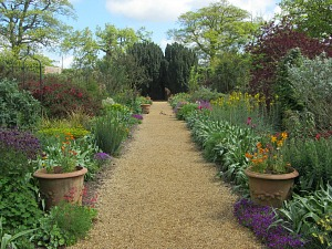 Herbaceous border at Felbrigg Hall