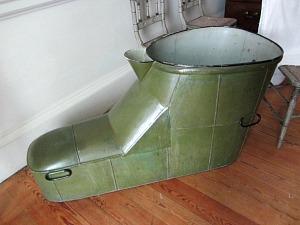 The slipper bath