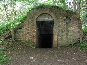 Ancient Ice House at Felbrigg Hall