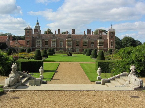 Blickling Hall back garden!