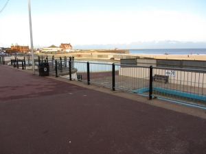 Gorleston beach paddling pool