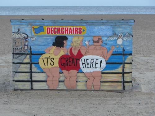 Great Yarmouth Beach cheeky humour!