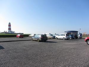 Happisburgh beach car park