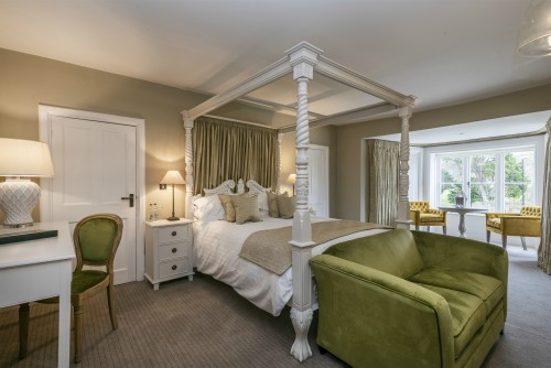 Treat yourself and stay in the Manor Suite at Heacham Manor Hotel