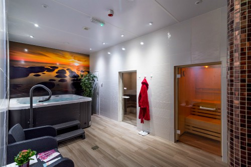 The luxurious thermal suite in the Spa area of Heacham Manor Hotel