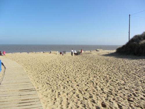 Board Walk to Hemsby Beach
