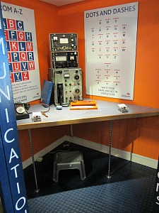 Forms of communication at the RNLI Henry Blogg Museum