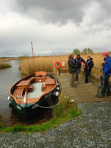 Getting ready for the boat trip out onto Hickling Broad