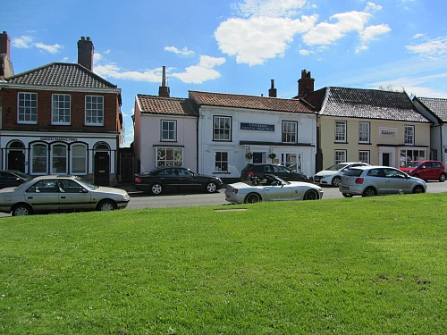 Many independent shops in Hingham Norfolk
