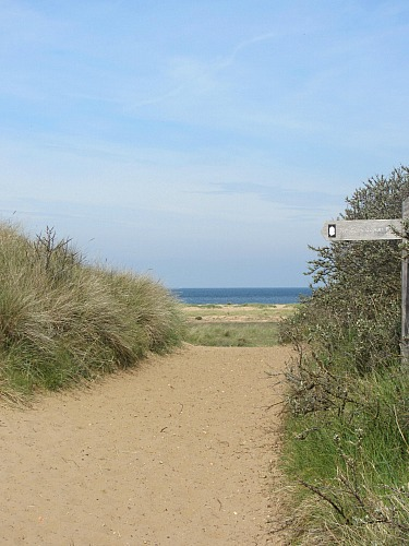 Holme Beach, Where The Peddars Way Ends