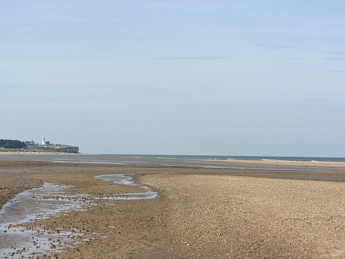 Looking towards Hunstanton Lighthouse