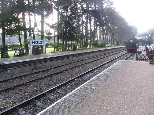 North Norfolk Railway at Holt