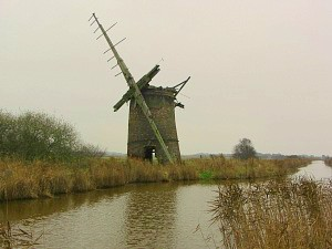 Brograve Drainage Mill at Horsey, East Norfolk