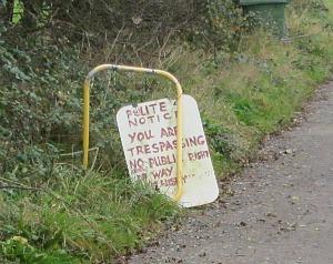 Trespassing on the Horsey coastal walk