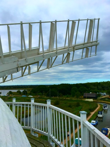 From the top of Horsey Windpump