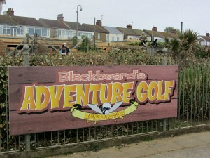 Crazy Golf at Hunstanton Beach