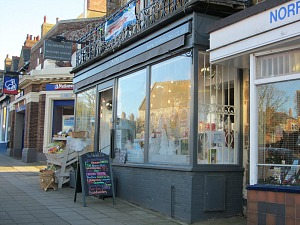 The independent shops in Hunstanton