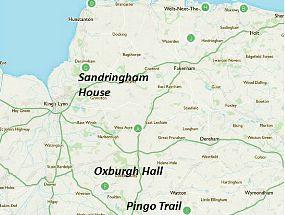 Norfolk Stately Homes walk