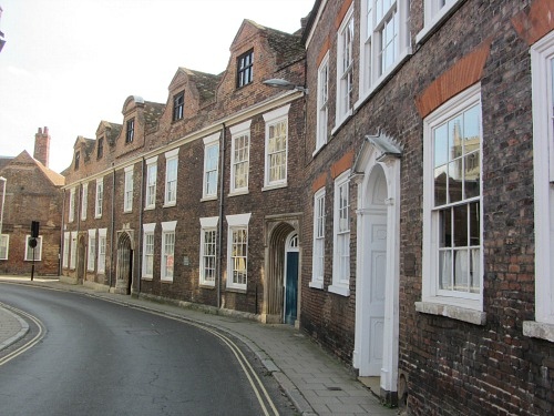 Georgian architecture around King's Lynn