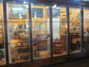 Lynn Museum Mahogany wall-cases