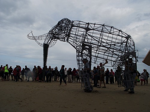 The model of the West Runton Elephant