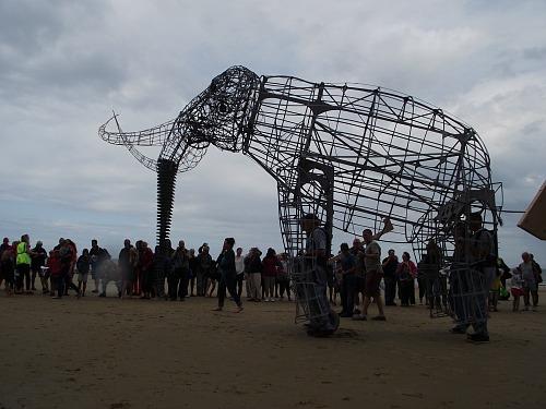 The model of the West Runton Elephant