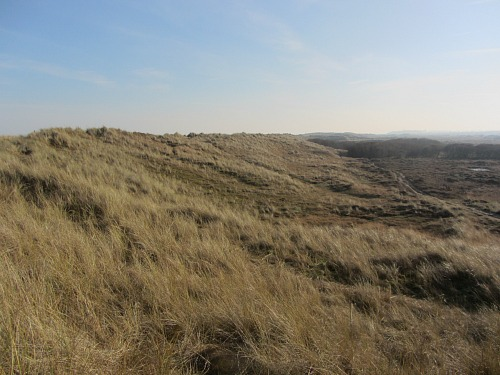 The wonderful expanse of Winterton Dunes on the Norfolk Coast Path