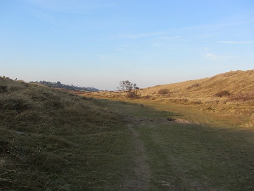 The sheltered Valley at Winterton