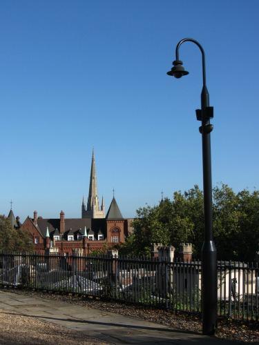 From Norwich Castle battlements