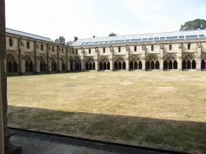 Norwich Cathedral quadrangle