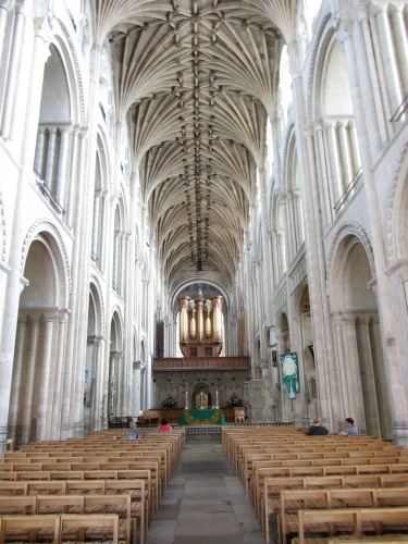 The Nave at Norwich Cathedral
