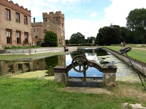 Oxburgh Hall Moat