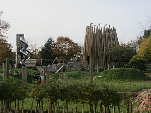 Adventure Playground at Pensthorpe