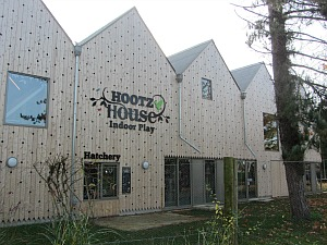 Hootz House Indoor Play Area at Pensthorpe Waterfowl Park