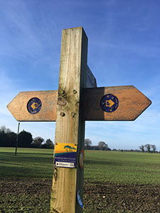 The Pingo Trail signs