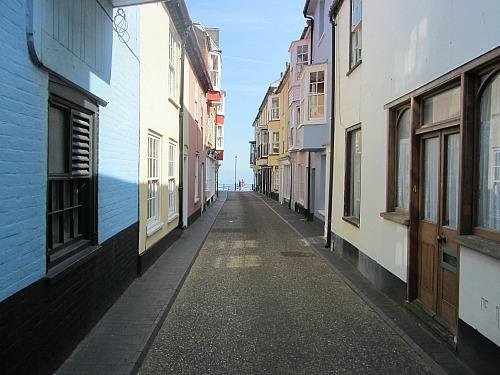 Cromer towards the sea