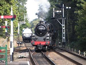 The Poppy Line Steam Railway in North Norfolk