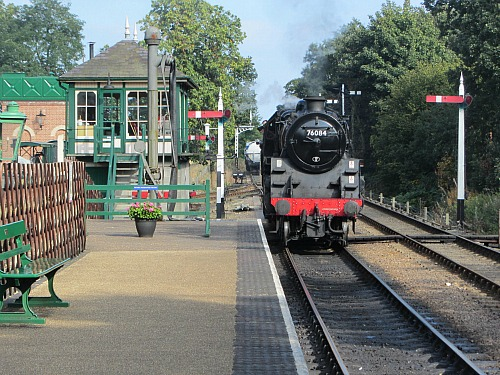 The steam engine at Holt