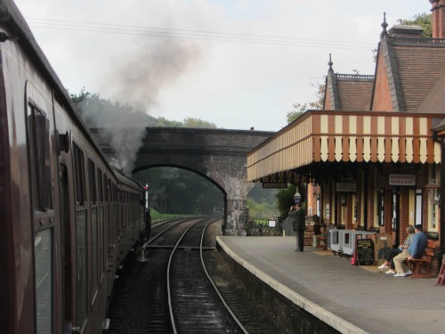 Weybourne station on the North Norfolk Heritage Steam Railway