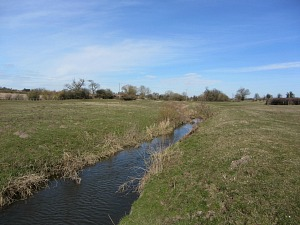 The River Wissey along Peddars Way