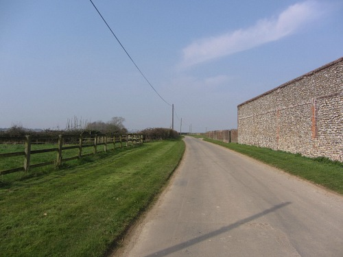 Part of the Peddars Way near Castle Acre