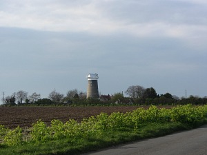 The windmill at Ringstead