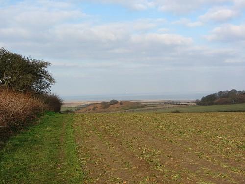 Wonderful views towards the North Norfolk Coast on the Salthouse Circular Walk