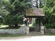 Sandringham Church entrance