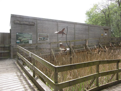 The Whitley Hide at Sculthorpe Moor