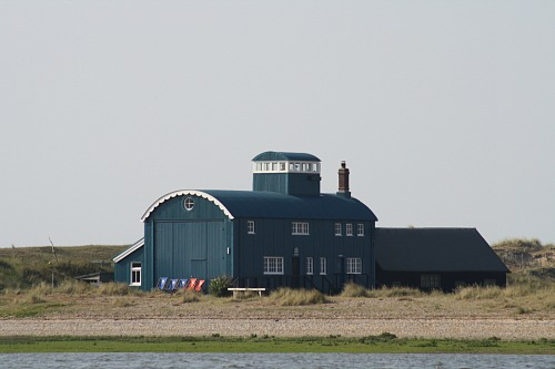The Old Lifeboat station at Blakeney Point