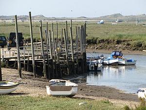 The jetty at Morston
