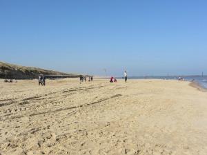 Beautiful soft sand at Sea Palling Beach