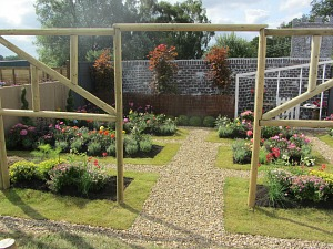 Garden Designs at the Sandringham Flower Show