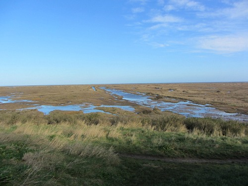 Stiffkey Marshes walk